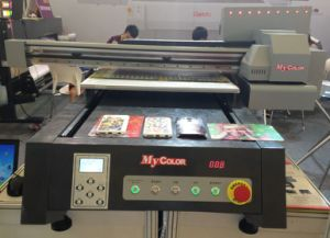 A0 Format UV LED Flatbed Digital Wood Printer with High Speed pictures & photos