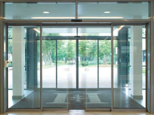 Profession Manufacture Automatic Sliding Glass Doors (DS-100) pictures & photos