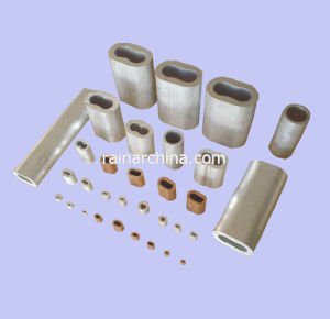 Aluminum Sleeve or Copper Sleeve for Steel Wire Rope