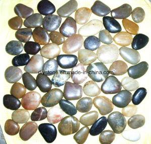 Cheap Tile China Polished Pebble Tiles 30X30cm pictures & photos