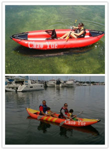 Inflatable Rafting Kayak Boat for Water Playing (CYBT-1516) pictures & photos