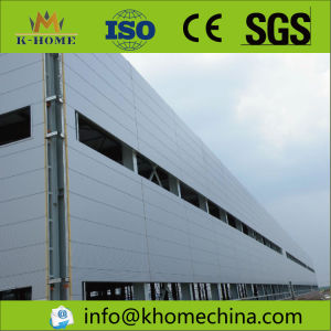 500 Square Meters Steel Frame Workshop for Machinery Factory pictures & photos