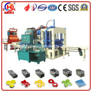 Qty4-20 Hydraulic Cement Block Machine, Hollow Brick Making Machine