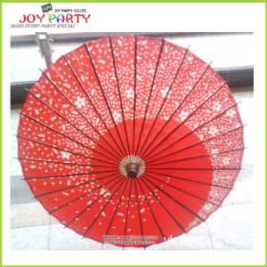 R42cm Oiled Paper Umbrella for Party Decoration pictures & photos