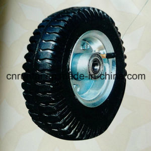"Inflated Fashionable High Quality 8""X2.50-4 Rubber Wheel pictures & photos"