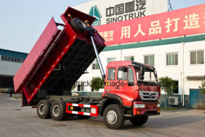 Sinotruk Golden Prince Brand 6X4 Dump Truck pictures & photos