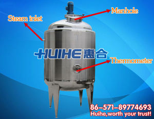 Beverage Blending Tank/ Mixing Tank for Food pictures & photos