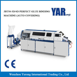 High Quality Jbt50-3D/4D Hot Melt Book Binding Machine with Ce pictures & photos