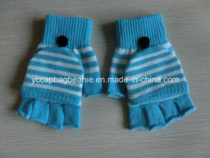 Winter Fashion Arylic Knitted Gloves Without Fingers pictures & photos