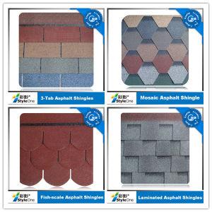 Asphalt Roof Shingle 12 Colors 5 Shapes pictures & photos