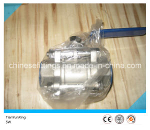 Handle Lever Ss316 Sw Stainless Steel Socket Weld Ball Valve pictures & photos