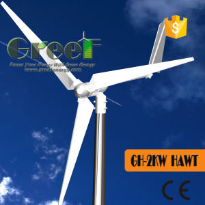 Horizotal Axis Direct Drive Permanent Magnet China Wind Generator pictures & photos