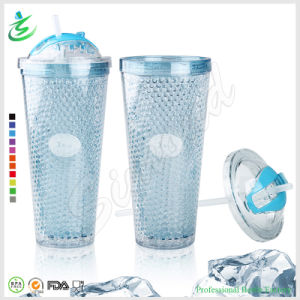 22oz Double Freezer Gel Insulated Tumbler with Lid (FB-A12) pictures & photos