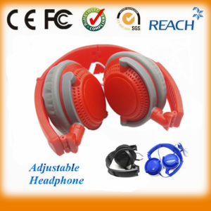Over-Ear Adjustable Headphone Super Bass Headphone High Quality Headset pictures & photos