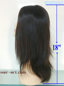 "Stock Kosher Jewish Wigs Wight Length 18""-Virgin Cuticle pictures & photos"