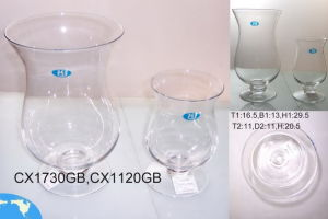 Clear Glass Candle Holders (ZT-38) pictures & photos