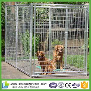 New Products 2016 Black Powder Coated Welded High Quality Dog Kennel pictures & photos