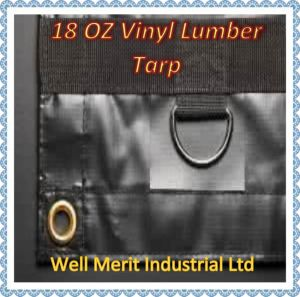 Different Sizes 18oz Vinyl Lumber Tarps pictures & photos