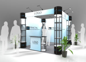 Frameless Modular Exhibition Booth, One Set for Different Designs pictures & photos