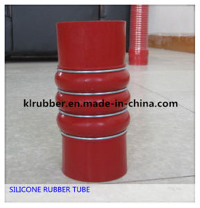 High Temperature Resist Truck Auto Rubber Corrugated Hose pictures & photos