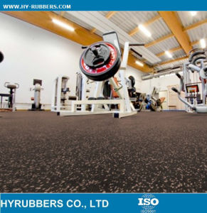 Cheap Rubber Gym Flooring pictures & photos