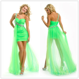 Long Evening Dress on Front Long Back Prom Dress  Xz360    China Prom Dress Prom Dresses