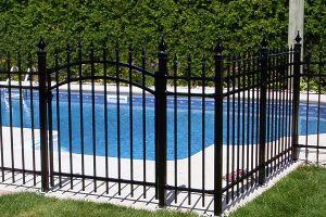 square top rail superior quality metal fences