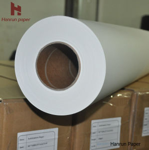 3500m Length 45GSM, 50, 60, 70, 80g, 90g, 100GSM High Speed Printing Fast Dry Sublimation Transfer Paper Jumbo Roll for Sublimation Textile Printer Ms Jp, Reggi pictures & photos