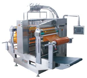 Liquid Fully Automatic 4-Side Sealing Multi-Line Packaging Machine pictures & photos