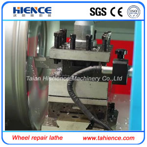 Making Car Wheels CNC Wheel Repair Machine Alloy Wheel CNC Lathe Awr28h pictures & photos