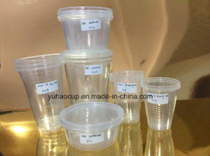 Transparent PP/Pet Plastic Drinking Cup, Juice Cup pictures & photos