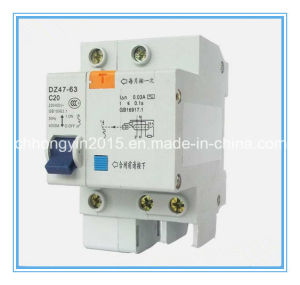 MCB Dz47 1p+Nc20 20A 400V Mini Circuit Breaker pictures & photos