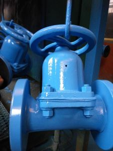Straight Through Dome Type Type Diaphragm Valve pictures & photos