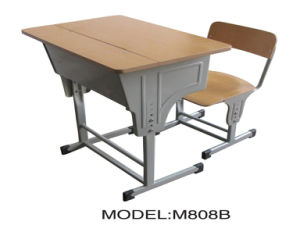 Single Desk and Chair (M808B) pictures & photos