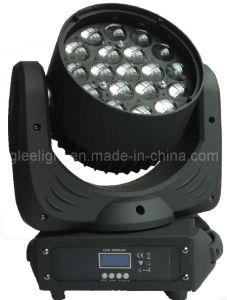 19X12W RGBW Quad-Color 4in1 LED Zoom LED Wash Moving Head / Martin Style