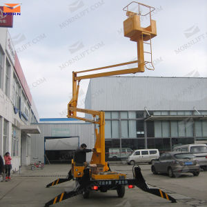 Diesel Power Elevated Lift Platform for Sale pictures & photos