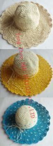 Fashional Multicolor Paper Straw Wide Brim Hat (DH-LH9125) pictures & photos