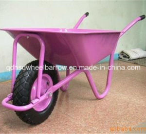 Chinese Garden Cart Colorful Wheelbarrow for Global Market (WB5009)