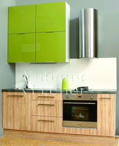 Modern Style PVC Kitchen Cabinet (YB-37) pictures & photos