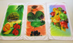 Full Printing Microfiber Kitchen Towel Cleaning Cloth