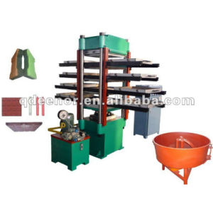 Rubber Floor Vulcanizing Press pictures & photos