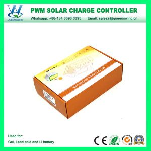12V/24V 30A Lithium Battery Solar Charge Controller with LCD/USB Port (QWP-SR-HP2430A) pictures & photos