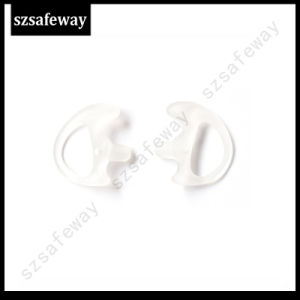 Walkie Talkie Silicone Earmold Earbud for Acoustic Tube Headset pictures & photos