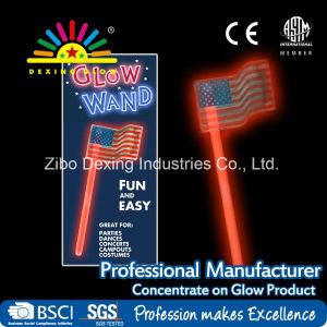 Glow Fly National Flag Wand, Glow Stick Holiday Decoration pictures & photos