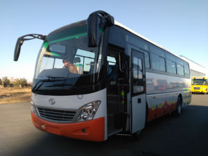9.8m 48 Seats Low Floor Luxury Bus with Front Cum Mins Engine Zf Gearbox pictures & photos
