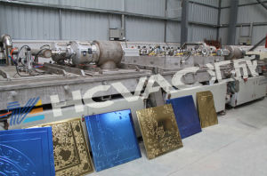 Titanium Gold/Rosegold/Silver Ceramic Porcelain Tiles PVD Vacuum Coating Machine/PVD Coating Unit pictures & photos
