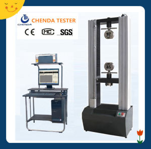 Computer Control Electronic Universal Testing Machine for Plastic pictures & photos