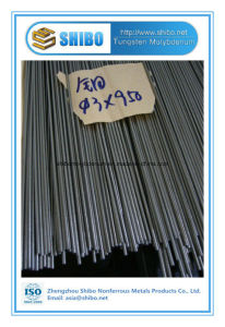 Factory Supply Polished Moly Rod Dia3mm X 950mm with Super High Purity pictures & photos