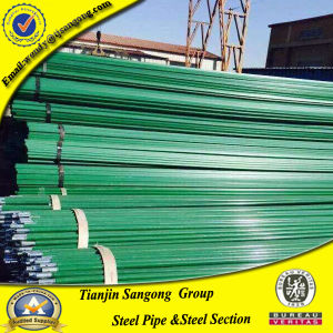 PE Coated Steel Pipe for Flow Rack Shelf pictures & photos