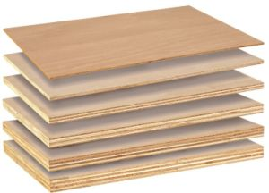 All Sizes of Wood Veneer Faced Plywood Sheets Commercial Plywood Price pictures & photos